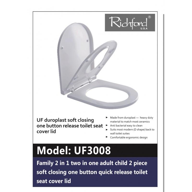 UF3008 子母廁板 脲醛緩衝降板